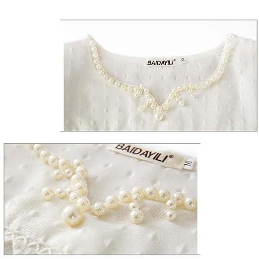 LuckyGirls Camisetas Mujer Manga Corta Encaje Heuco Sexy Remeras Blusas Camisas: Amazon.es: Ropa y accesorios