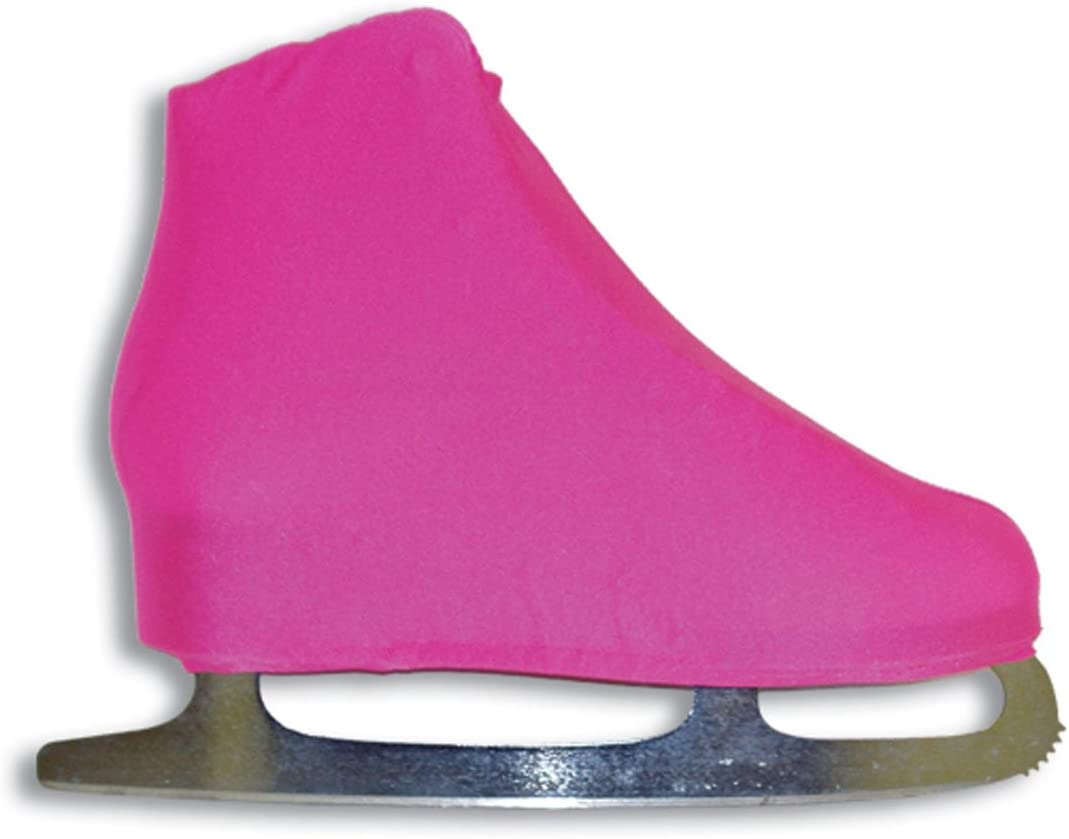 A & RスポーツライクラIce Skate Boot Covers ネオンピンク