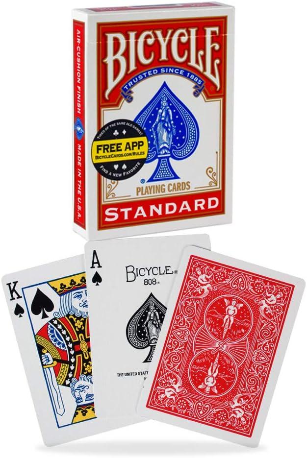 Bicycle Black Standard Back Deck Poker Spielkarten