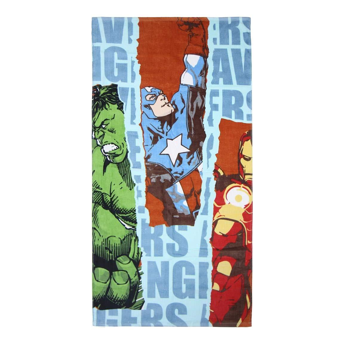 Cerd/á Asciugamano Cotone Avengers Blu 70/x 140/cm