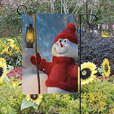 Bennigiry - Bandera Decorativa de Doble Cara para jardín, diseño de muñeco de Nieve, 30, 5 x 45, 7 cm, 12x18(in): Amazon.es: Jardín