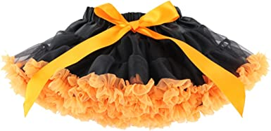 Wennikids Little Girls Dance Chiffon Pettiskirts Tutu Assorted Size and Color