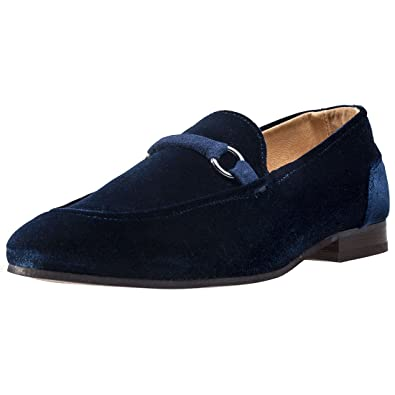 Renzo Velvet Mens Loafers