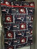 Handmade Patriots pillowcase