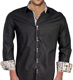 product image for Chinese Writing Themed Designer Dress Shirts - Made in USA