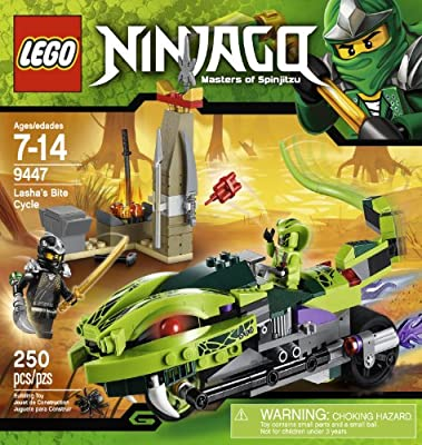 Lego Ninjago 9447 Lashas Bite Cycle from LEGO