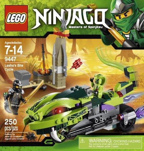 LEGO Ninjago 9447 Lasha's Bite Cycle (Venomari Lego Ninjago)