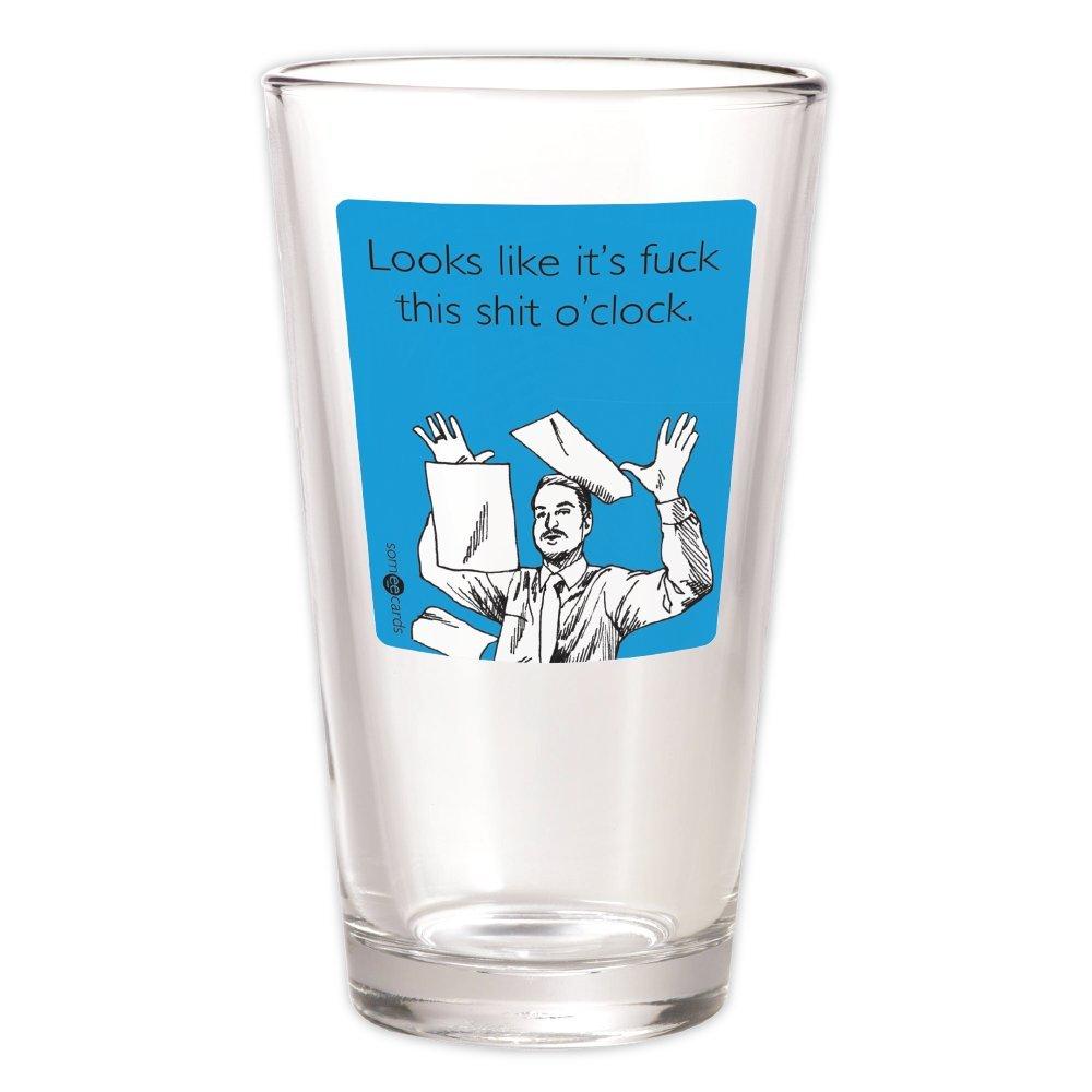 Someecards F This S O'clock Pint Glass - Blue 30 Watt SYNCHKG028694