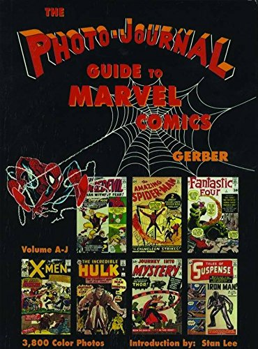 Marvel Comic Covers - Photo-Journal Guide to Marvel Comics Volume 3 (A-J)