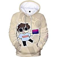Dreamwastaken Merch Dream Hoodie Hip Hop Mannen/Vrouwen Streetwear 3D Youtuber Sweatshirt Truien Tops