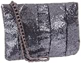 BCBGeneration Women's Gemma Wristlet,Charcoal,One Size, Bags Central