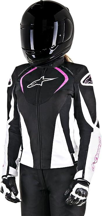 2822-0865 Alpinestars Womens Stella T-Jaws Waterproof Jacket Black//Pink,Large