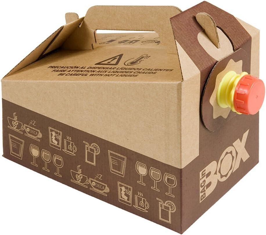 Garcia de Pou 25 Unidad Caja Bolsa 3 L en Caja, cartón, marrón, 30 ...
