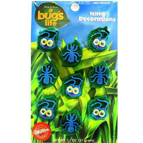 A Bug's Life Wilton Icing Decorations (9ct)