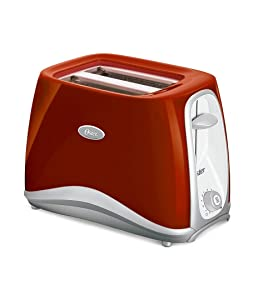 Oster 6544Rd-053 Pop Up 2 Slice Toaster, Red (220V - Not for USA)