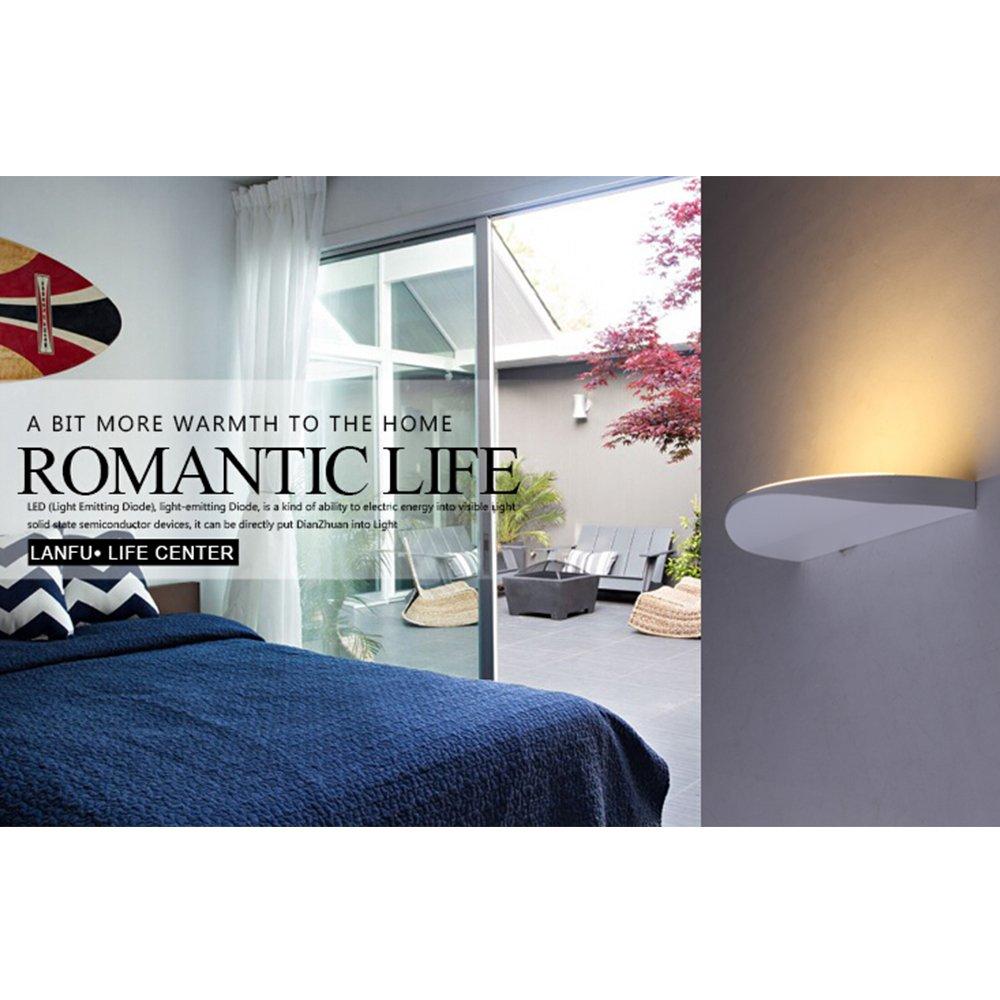 Treppenhausbeleuchtung moderne treppenhausbeleuchtung  Lanfu 10W LED Wall Lamp Indoor Sconce Night Light for Living Room ...