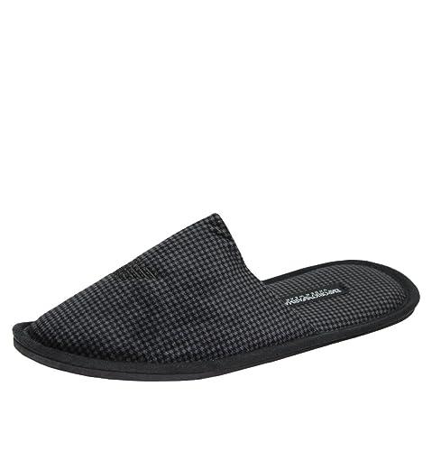 Emporio Armani - Zapatillas de Estar por casa para Hombre Negro Negro L (43/