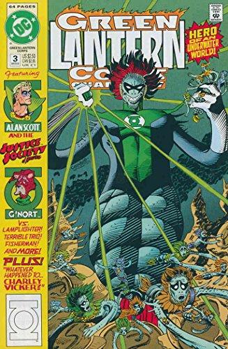 Green Lantern Corps Quarterly #3 VF/NM ; DC comic book