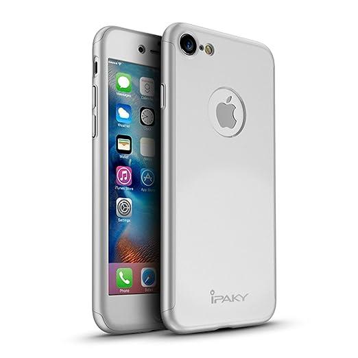 5 opinioni per Caso iPhone 7, Yinano® 360 ° della copertura completa completa copertura di