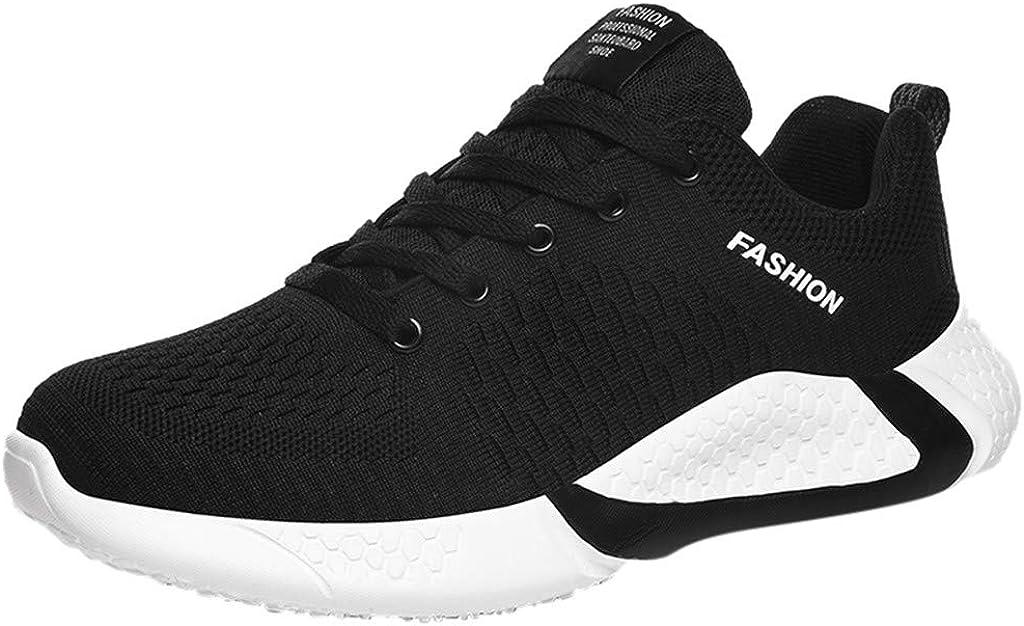 BIKETAFUWY Mens Running Shoes Lightweight Breathable Footwear Walking Sneakers Gym Sports Casual Athletic Outdoor