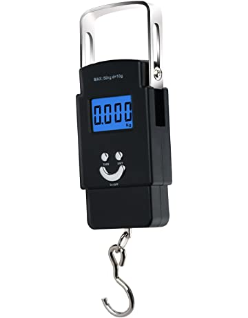 Moobom 1 m Cinta, 50 kg báscula electrónica, Pantalla LCD retroiluminación Digital Equilibrio Postal