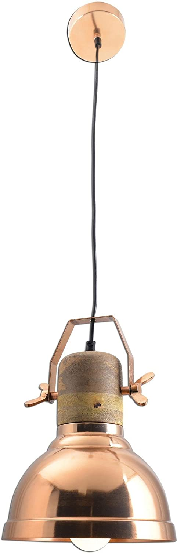 Moderno Lámpara colgante Con Un Toque De Nostalgia, Flotador 1 Luz Mini Botella Remolque Terminar: Cromo Cobre, Para Comedor Salón El dormitorio: Amazon.es: ...