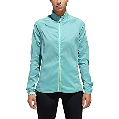 .com : adidas Running Supernova Confident Jacket, Clear Mint/Heather : Clothing