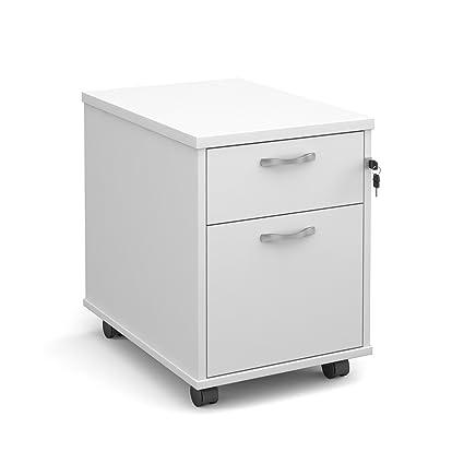 Oficina elefante oe05-r2mwh dos cajón Pedestal móvil con un poco profundas y un armario