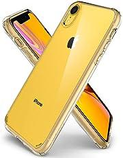 Spigen Coque iPhone XR [Ultra Hybrid] Bumper Renforcé, Protection Coin, Air Cushion, Anti-Choc, Coque Etui Housse pour iPhone XR (6.1 Pouces) (2018) (064CS24873)