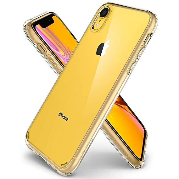 cheaper f3a1c 378d4 Spigen Ultra Hybrid Designed for iPhone XR Case Cover (2018) - Crystal Clear