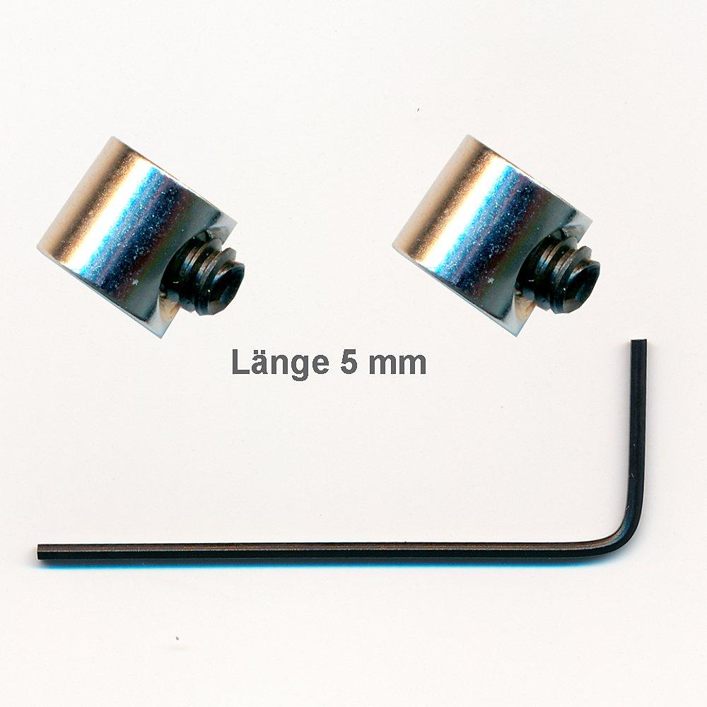 2Fermoirs sécurité inox (Mini) Pin Saver pour boutons en métal Pin Badge Import/hegibaer