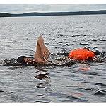 BOR-NTO-Swim-saferswimmer-Tasche-a-Secco-e-Boa-Galleggiante-Robusto-Boa-e-Sacco-per-acque-Aperte-Nuotatori-e-triatleti-Unisex-SaferSwimmer-Trockentasche-und-Schwimmboje-Robust