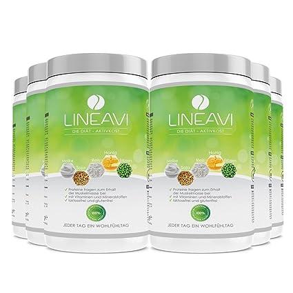 Alimento dietético activo LINEAVI | sustitutivos de comida por la perdida de peso | mezcla de