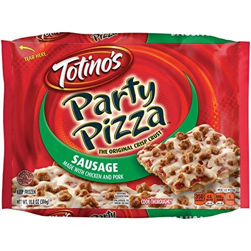 Totino's Party Pizza, Sausage, 10.8 oz (Frozen)