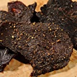 Barren Creek Beef Jerky-Cracked Black Pepper Flavor-Perfect Gift For Jerky Fans-Premium Beef Jerky-High Protein Genuine Beef Jerky-(8oz Bag)