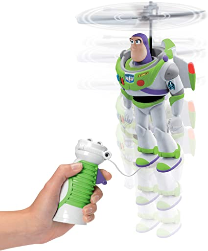 Amazon Com Disney Toy Story Pixar 4 Cable Flying Buzz Lightyear Multi Colour Toys Games