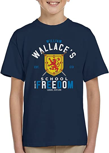 Cloud City 7 Braveheart William Wallace School for Freedom Mens T-Shirt