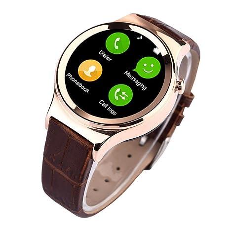ouneed Fashion reloj inteligente para iphone 6 6S, impermeable Bluetooth Smart reloj de muñeca para