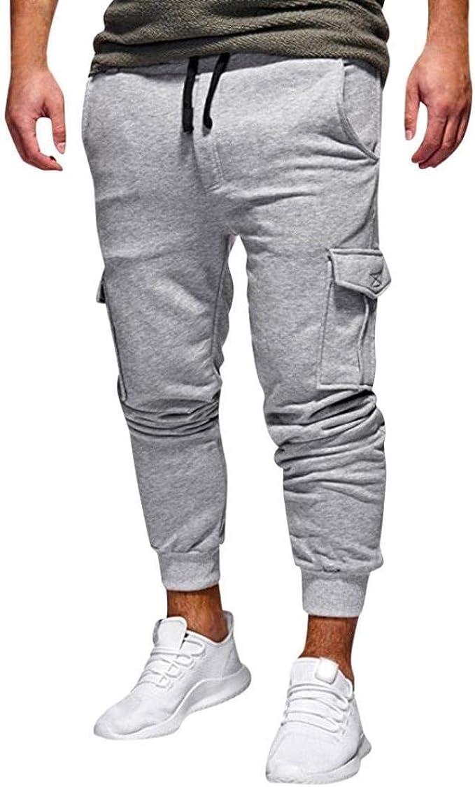 Anaisy Pantalones Deportivos De Los Hombres De Sueltos Pantalones ...