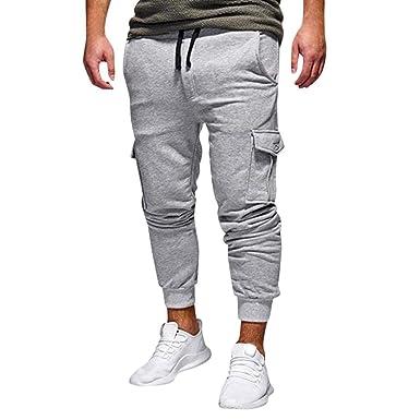 Pantalones Deportivos De Los Hombres Pantalones De Sueltos De Moda ...