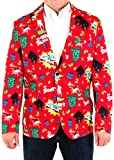Mens Christmas Vacation Sh!ter was Full Holiday Suit Coat and Tie By Festified