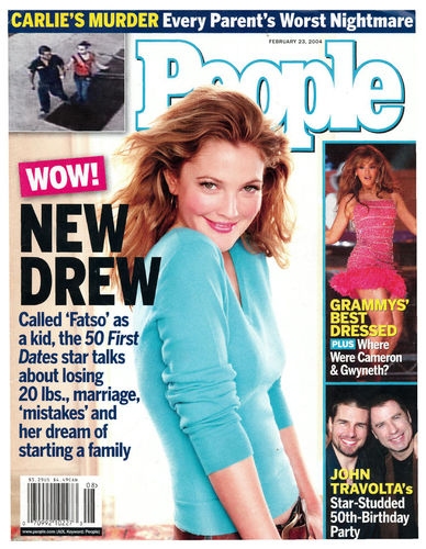 People Weekly Magazine 23 February 2004 - Drew Barrymore Cover PDF