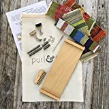Purl & Loop Birch Stash Blaster Weaving Loom (Bracelet Loom 12.0 Starter Package)