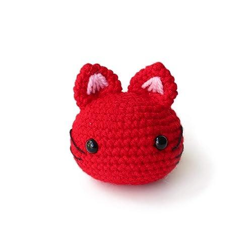 Pattern Cap with cat ears amigurumi crochet doll | Etsy | 500x500