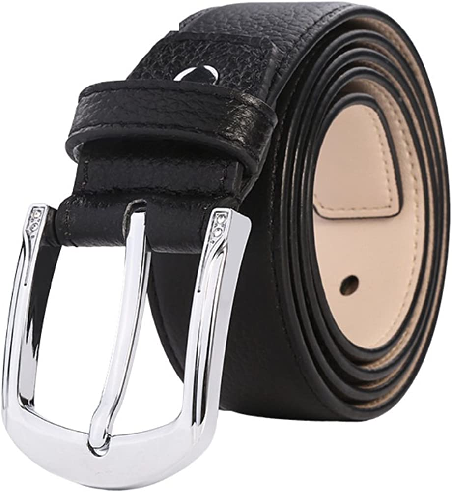 Ladies Leather Belt Simple Fashion Commuter Belt Belt