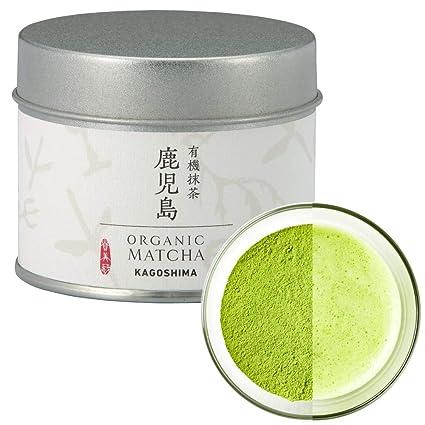 Polvo De Té Verde Matcha Orgánico Premium De Kagoshima Japón Té Japonés Kimikura Matcha Kimikura 4 Kagoshima Ceremonio Orgánico Amazon Com Grocery Gourmet Food