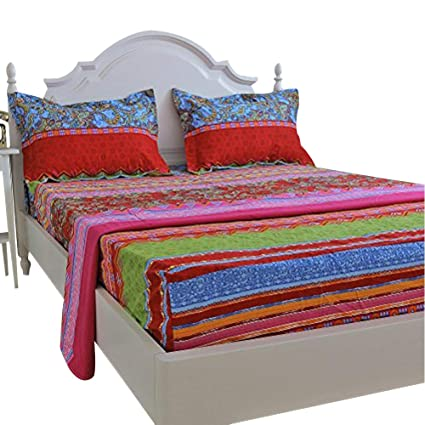 8fbcb3f2e10f Image Unavailable. Image not available for. Color  FADFAY Floral Bed Sheets  ...