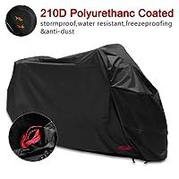 Housse de Protection pour Moto Couverture Imperméable en Polyester (245*105*125cm)