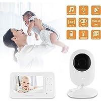 "XCSOURCE Video Two-Way Talk 4.3"" Digital Wireless Baby Monitor Night Vision Camera BB220"