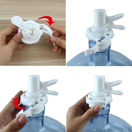 Amazon.com : skyning Water Dispenser, Water Bottle Dispenser Outdoor Camping Buckle Faucet Eco Water Bottle Cap Reusable Plastic Spigot Faucet Friendly ...